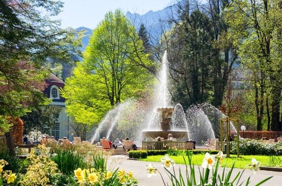 Alpensole Springbrunnen Bad Reichenhall 1