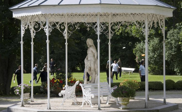 Garten Pavillons Bad Steben