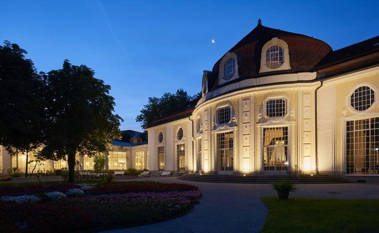 Philharmonische Klangwolke Konzertotunde Abends Bad Reichenhall