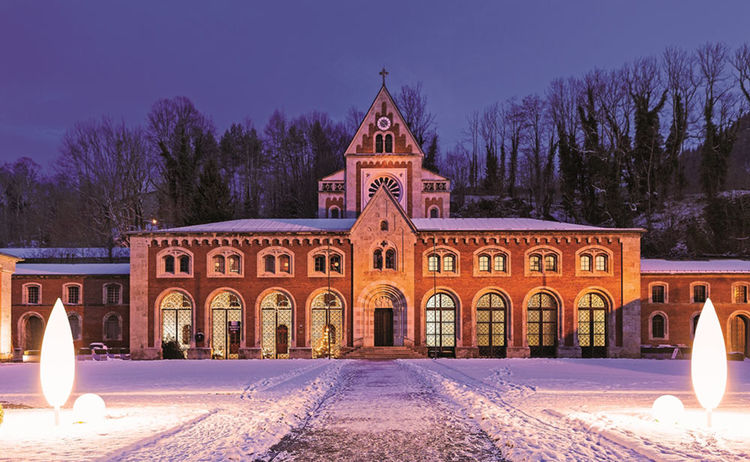 Saline Winter Bad Reichenhall