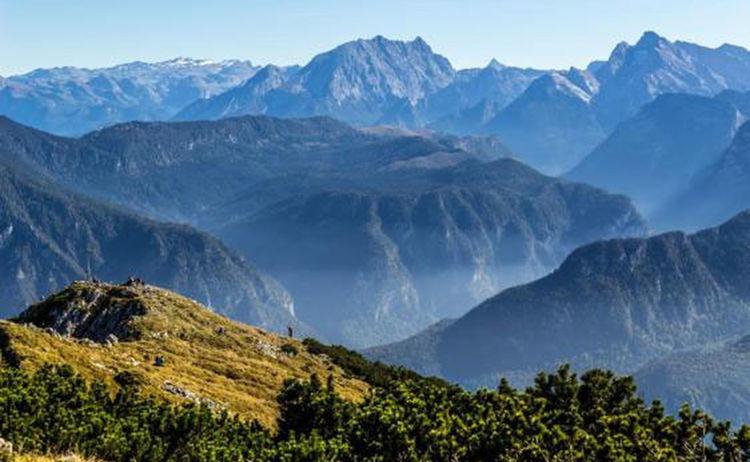 Salzalpensteig Bad Reichenhall Berchtesgadener Alpen