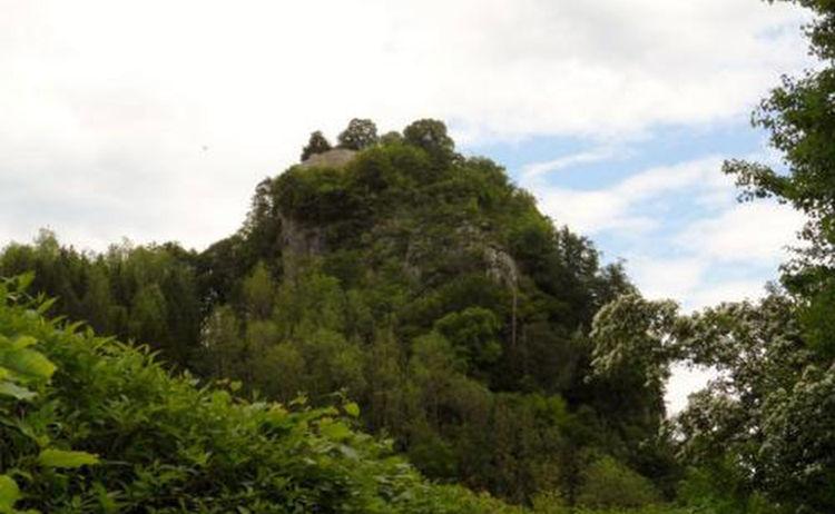 Salzalpensteig Bad Reichenhall Ruine Karlstein